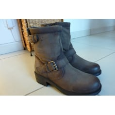 Bottines & low boots à talons SAN MARINA Gris, anthracite