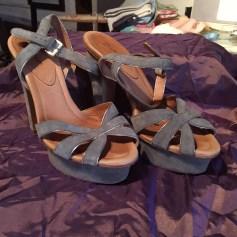 Sandales à talons Eva Turner  pas cher