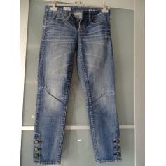 Jeans slim GAP Bleu, bleu marine, bleu turquoise