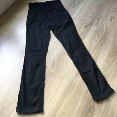 Pantalon Future Maman VERTBAUDET COLLECTION COLLINE Noir
