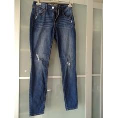 Jeans droit OLD NAVY Bleu, bleu marine, bleu turquoise