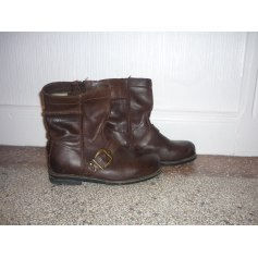 Bottines & low boots plates PALLADIUM Marron