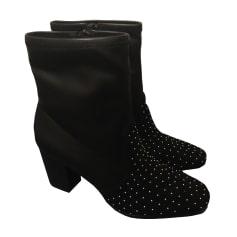 Bottines & low boots à talons SANDRO Noir