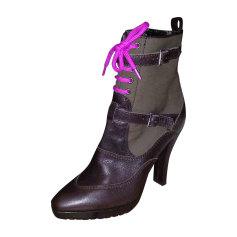 Bottines & low boots à talons PAUL SMITH Marron