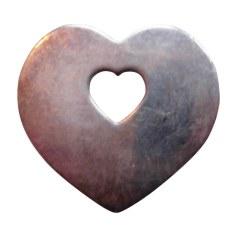 Pendentif, collier pendentif POIRAY Argenté, acier