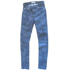 Jeans slim ACNE Imprimés animaliers