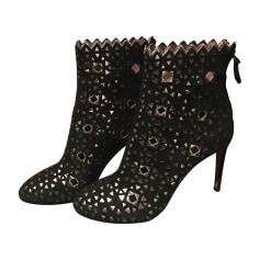Bottines & low boots à talons ALAÏA Noir