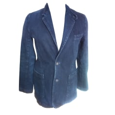 Veste en jean A.P.C. Bleu, bleu marine, bleu turquoise