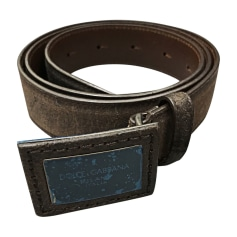 Belt DOLCE & GABBANA Brown
