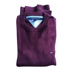 Pull TOMMY HILFIGER Rouge, bordeaux