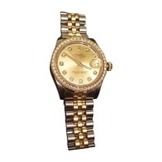 Armbanduhr ROLEX OYSTER PERPETUAL or et acier