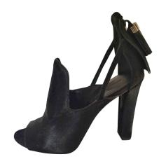 Sandales à talons ALEXANDER WANG Noir