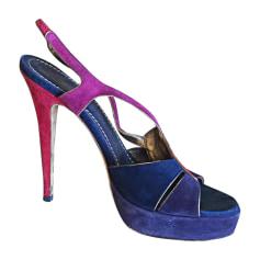 Sandali con tacchi YVES SAINT LAURENT Multicolore