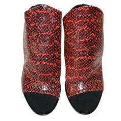 Sandales à talons BALENCIAGA Rouge, bordeaux