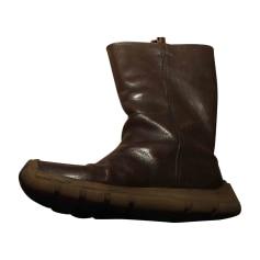 Boots MIU MIU Brown