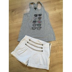 Shorts Set, Outfit IKKS Gray, charcoal