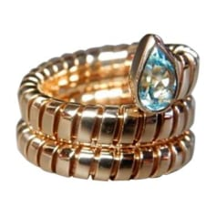 Ring BULGARI Golden, bronze, copper