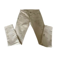 Jeans slim RALPH LAUREN Beige, camel