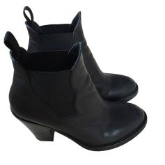 Bottines & low boots à talons ACNE Noir