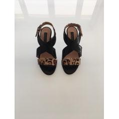 Sandales à talons  GAIA D'ESTE Imprimés animaliers