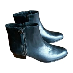 Bottines & low boots plates MINELLI Noir