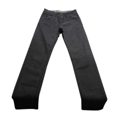 Pants BURBERRY Gray, charcoal