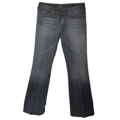 Jeans évasé, boot-cut 7 FOR ALL MANKIND Bleu, bleu marine, bleu turquoise
