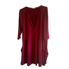 Tunic Dress BA&SH Red, burgundy