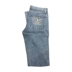 Jeans très evasé, patte d'éléphant RALPH LAUREN Bleu, bleu marine, bleu turquoise