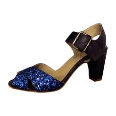 Chaussures de danse  ANNIEL Bleu, bleu marine, bleu turquoise