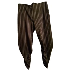 Wide Leg Pants VIVIENNE WESTWOOD ANGLOMANIA Brown