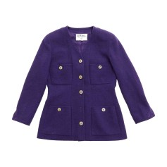 Jacket CHANEL Purple, mauve, lavender