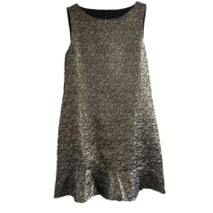 Midi Dress BA&SH Golden, bronze, copper