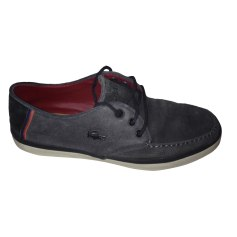 Lace Up Shoes LACOSTE Gray, charcoal