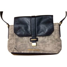 Non-Leather Shoulder Bag Black