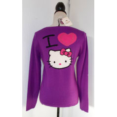 Pull HELLO KITTY BY VICTORIA COUTURE Violet, mauve, lavande