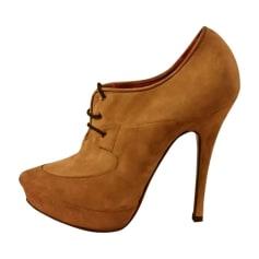 Chaussures à lacets  CESARE PACIOTTI Beige, camel