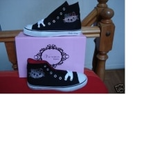 Baskets HELLO KITTY BY VICTORIA COUTURE Noir