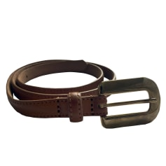 Skinny Belt A.P.C. Brown