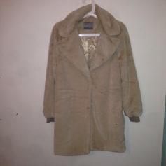 Manteau fausse fourrure noir vero moda