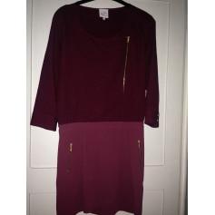 Robe mi-longue 1975 DIMENSION Rouge, bordeaux