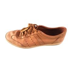 Lace Up Shoes MONCLER Beige, camel