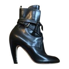 High Heel Ankle Boots LOUIS VUITTON Black