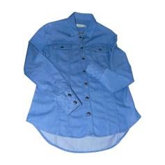 Chemise PIERRE BALMAIN Bleu, bleu marine, bleu turquoise