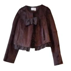 Fur Jackets YVES SALOMON Brown
