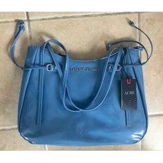Sac XL en cuir ARMANI Bleu, bleu marine, bleu turquoise