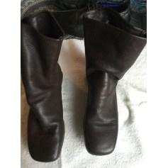 Bottines & low boots plates ARCHE Marron