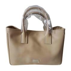 c3137e78dcfb Leather Handbag CERRUTI 1881 Beige