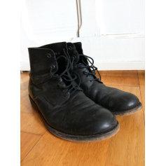 Lace Up Shoes TBS Black