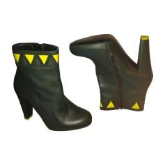 Bottines & low boots à talons MINELLI Vert